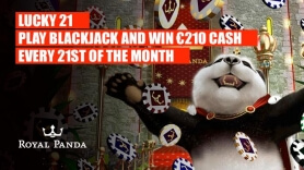 Every 21st of the Month Can Be Your Lucky Day at Royal Panda