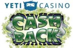 Yeti Casino Announces Unlimited Cashback Every Saturdays