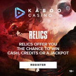 Race to Win 500 Credits at Kaboo Casino This March