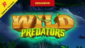 Rizk Casino Announces Wild Predators as Game of the Week, Exclusive to Rizk Until June 6th